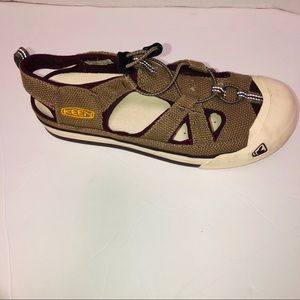 Keen Coronado canvas sandals sport shoes size 10